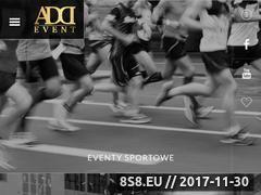 Miniaturka addevent.pl (Addevent - organizacja imprez sportowych)