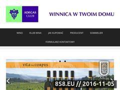 Miniaturka domeny www.adegasclub.pl