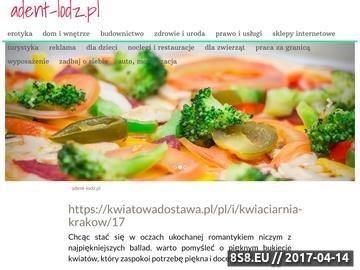 Zrzut strony Stomatolog Łódź - Adent