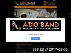 Miniaturka domeny adioband.pl