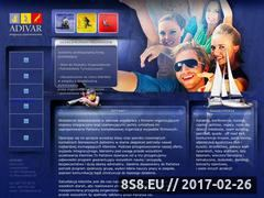 Miniaturka domeny www.adivar.pl