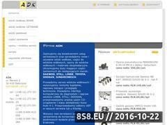 Miniaturka domeny www.adk.com.pl