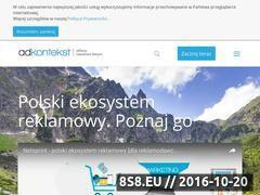 Miniaturka domeny adkontekst.pl