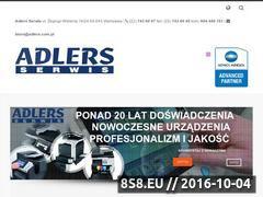 Miniaturka www.adlers.com.pl (Dzierzawa kserokopiarek Warszawa)