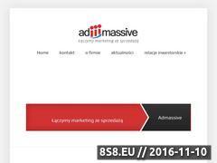Miniaturka domeny admassive.pl