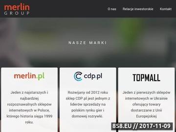 Zrzut strony Reklama internetowa