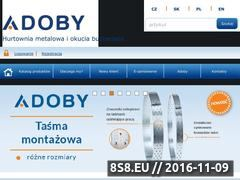 Miniaturka domeny adoby.pl