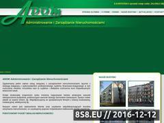Miniaturka domeny www.adom-waw.pl