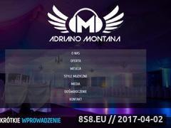 Miniaturka adriano-montana.pl (DJ - wodzirej)