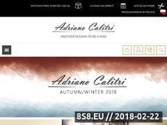 Miniaturka adrianocalitri.pl (Koszule męskie oraz garnitury)