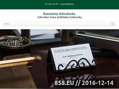 Miniaturka domeny adwokacilublin.com