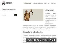 Miniaturka adwokat-24.pl (Obsługa prawna firm. Rozwody. Odszkodowania.)