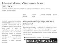 Miniaturka domeny adwokat-alimenty.warszawa.pl