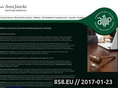 Miniaturka domeny adwokat-janicka.com