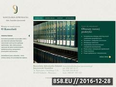 Miniaturka domeny www.adwokat-jaworowski.pl