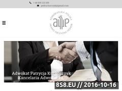 Miniaturka domeny adwokat-kucharczyk.pl