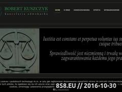Miniaturka domeny www.adwokat-kuszczyk.pl