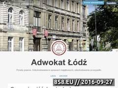 Miniaturka adwokat-lodz.tumblr.com (Odszkodowania w sprawach majątkowych - porady)