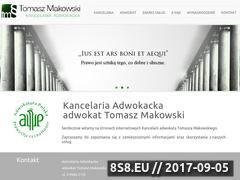 Miniaturka domeny adwokat-makowski.pl