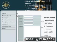 Miniaturka domeny www.adwokat-miechowska.pl