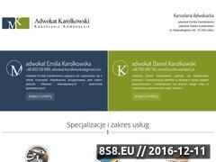 Miniaturka domeny www.adwokat-mk.pl