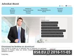 Miniaturka domeny www.adwokat-mszot.pl