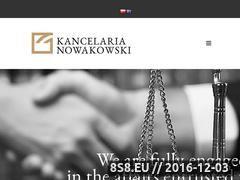 Miniaturka Usługi prawne (www.adwokat-nowakowski.pl)