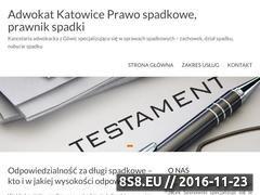 Miniaturka Adwokat - dział spadku Gliwice (www.adwokat-sprawy-spadkowe.pl)
