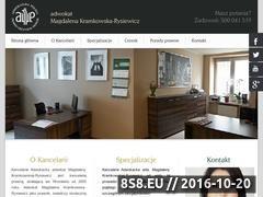 Miniaturka domeny adwokat-wroclaw.eu