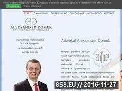 Miniaturka domeny adwokatdomek.pl