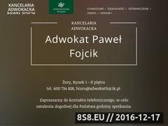 Miniaturka Adwokat Żory (www.adwokatfojcik.pl)