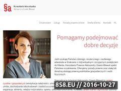 Miniaturka domeny adwokatgb.pl