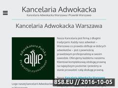 Miniaturka domeny www.adwokatgniezno.eu