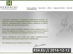 Miniaturka domeny adwokathernacki.pl