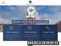 Miniaturka domeny adwokatjaniga.pl