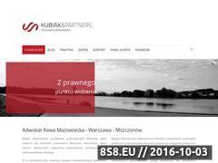 Miniaturka domeny www.adwokatkubiak.pl