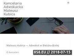 Miniaturka domeny adwokatkubica.pl