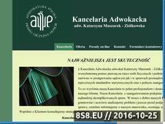Miniaturka domeny www.adwokatkutno.pl