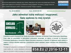 Miniaturka domeny www.adwokatnowakowska.pl