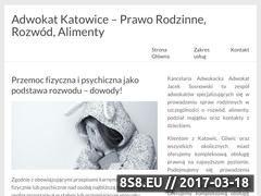 Miniaturka domeny adwokatrodzinny.katowice.pl
