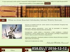 Miniaturka domeny www.adwokatszewczak.pl