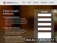 Miniaturka Reklama w Google (adwordsgroup.pl)