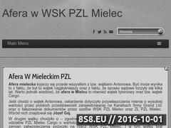 Miniaturka domeny www.aferapzlmielec.pl