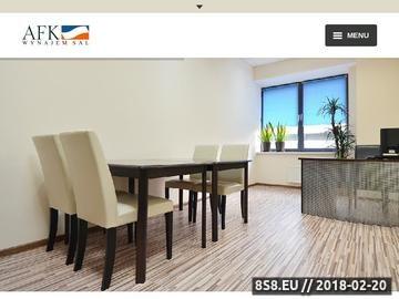 Zrzut strony AFK Wrocław - wynajem sal na szkolenia, sala komputerowa i konferencyjna