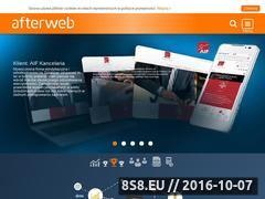 Miniaturka afterweb.pl (Pozycjonowanie stron WWW - firma AFTERWEB)