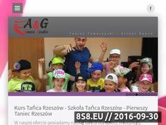 Miniaturka ag-studio.rzeszow.pl (AG-Studio szkoła tańca Rzeszów)