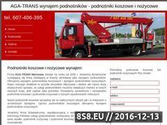 Miniaturka domeny www.aga-trans.comweb.pl