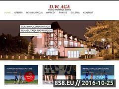 Miniaturka domeny www.aga.ustka.pl