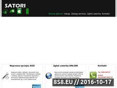 Miniaturka domeny www.agd-satori.pl