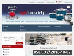 Miniaturka domeny www.agdchrosciel.pl